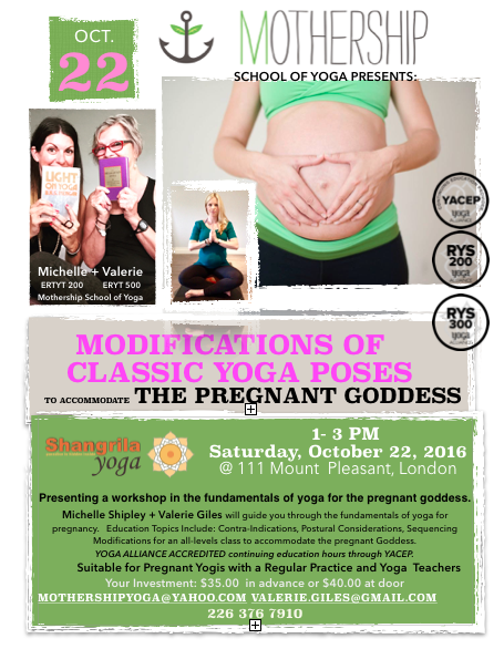 Pregnant Workshop