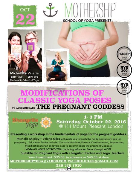 Pregnant Workshop